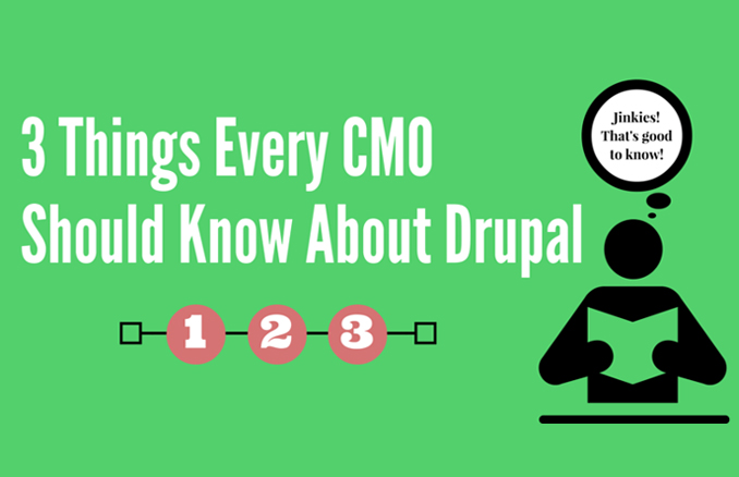 3 Things Every CMO Should Know About Drupal