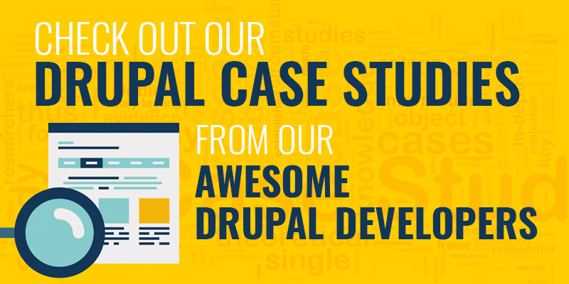 Drupal Case Studies from DrupalPartners