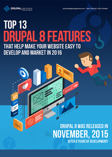 Top 13 Drupal 8 Features That Help Make Your Website Easy To Develop And Market In 2016