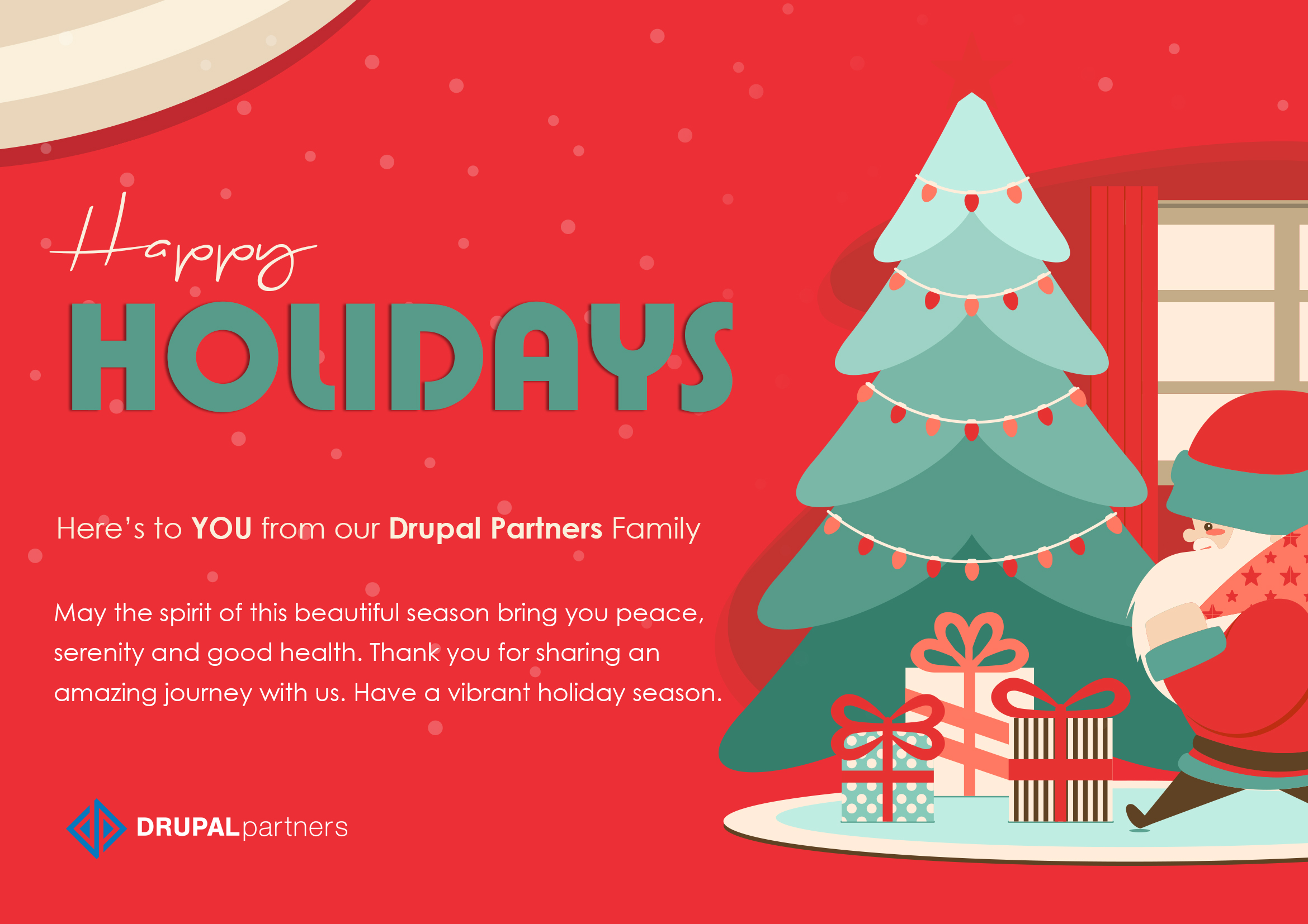 Happy Holidays From DrupalPartners