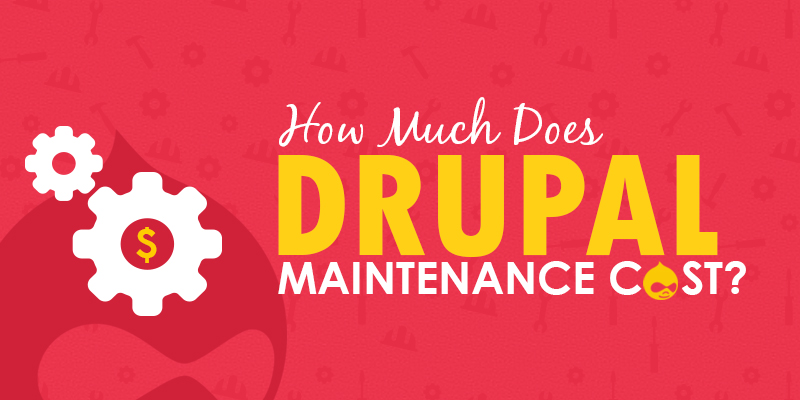 How Much Does Drupal Maintenance Cost?