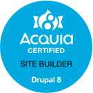 Acquia Certified Site Builder Logo