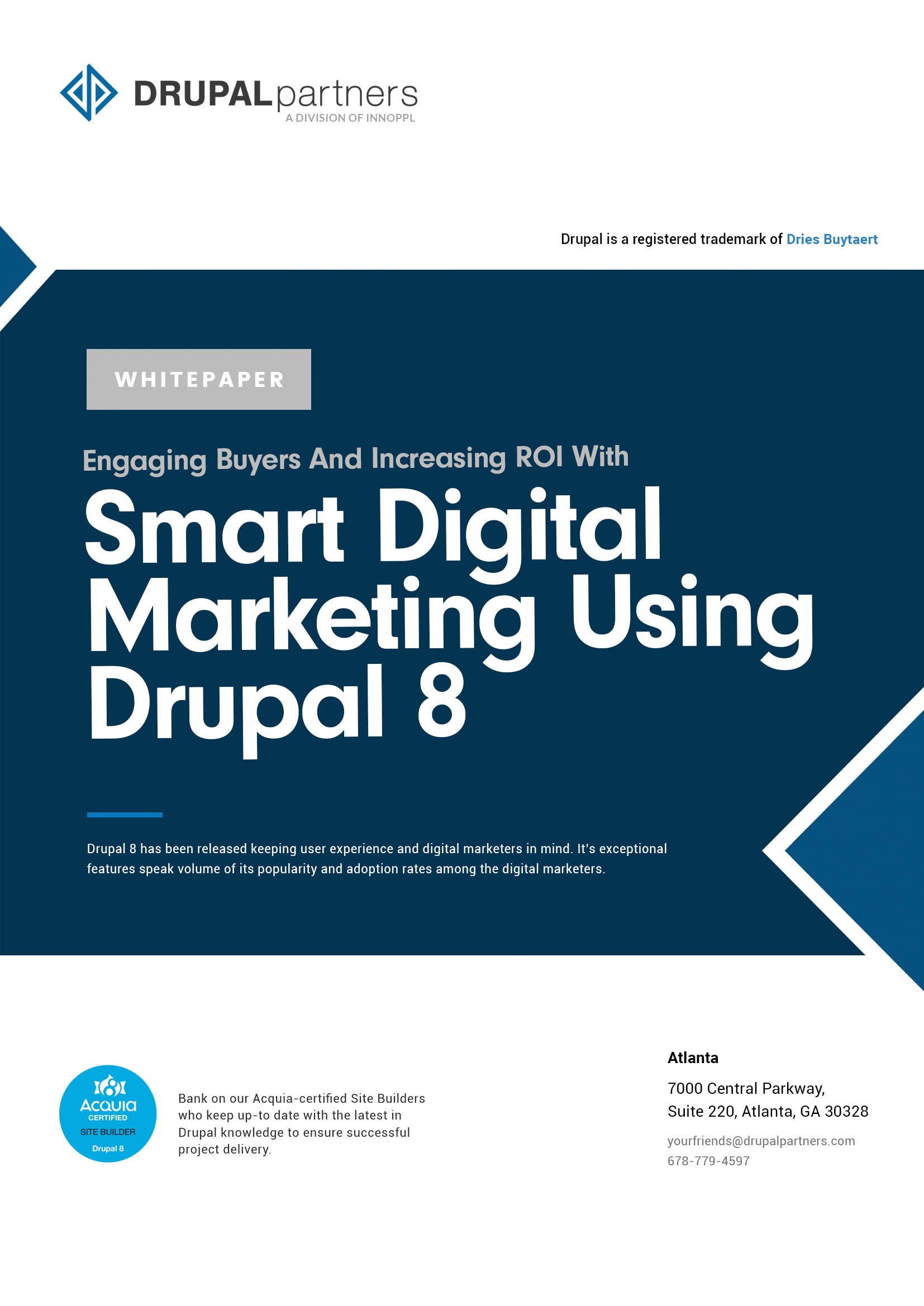 ROI with Smart Digital Marketing Using Drupal 8