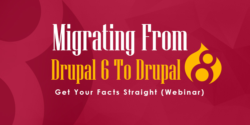 Migrating From Drupal 6 To Drupal 8