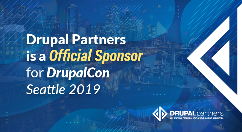 Drupal Partners is a Official Sponsor for DrupalCon Seattle 2019