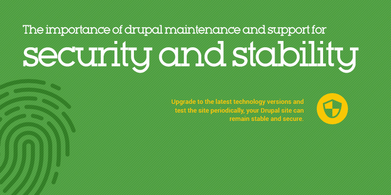 The Importance of Drupal Maintenance & Support for Security & Stability