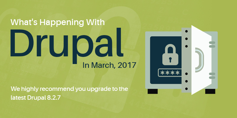 What's Happening With Drupal In March, 2017