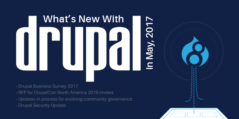 What's New With Drupal In May 2017?