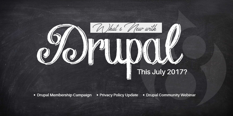 What's New With Drupal This July 2017?